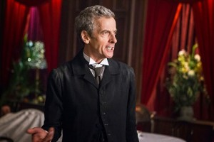 The Twelfth Doctor, Peter Capaldi.