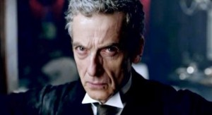 Peter Capaldi as the Doctor.