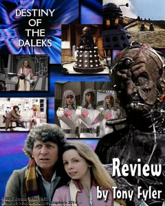Collage of images from Destiny fo the Daleks