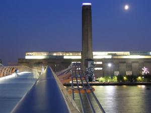 The Tate Modern at night