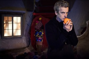 Peter Capaldi in a publicity shot for Last Christmas.