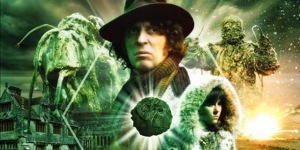 The cover of the DVD of The Seeds of Doom