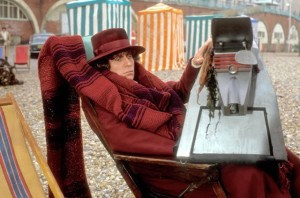 Tom Baker looking miserable in The Leisure Hive