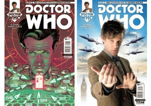 The Eleventh Doctor on Titan Comics.