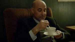 Stanley Tucci from Fortitude, Episode 3