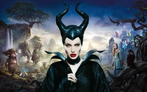 Angelie Jolie as Maleficent.