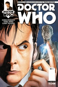 The Tenth Doctor #8 cover