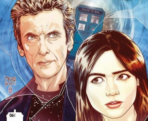 The cover for the Twelfth Doctor #6