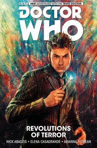 The cover of the Tenth Doctor Collection.